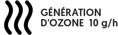 Ozoniseur portable pour la désinfection