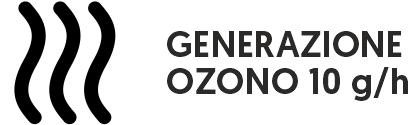 generazione ozono 10 g