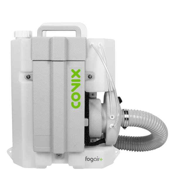 Equipamento nebulizador sem fios para a desinfeção eficaz de superfícies