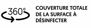 DÉSINFECTION PAR NÉBULISATION ÉLECTROSTATIQUE