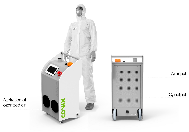 ozoair industrial ozone generator