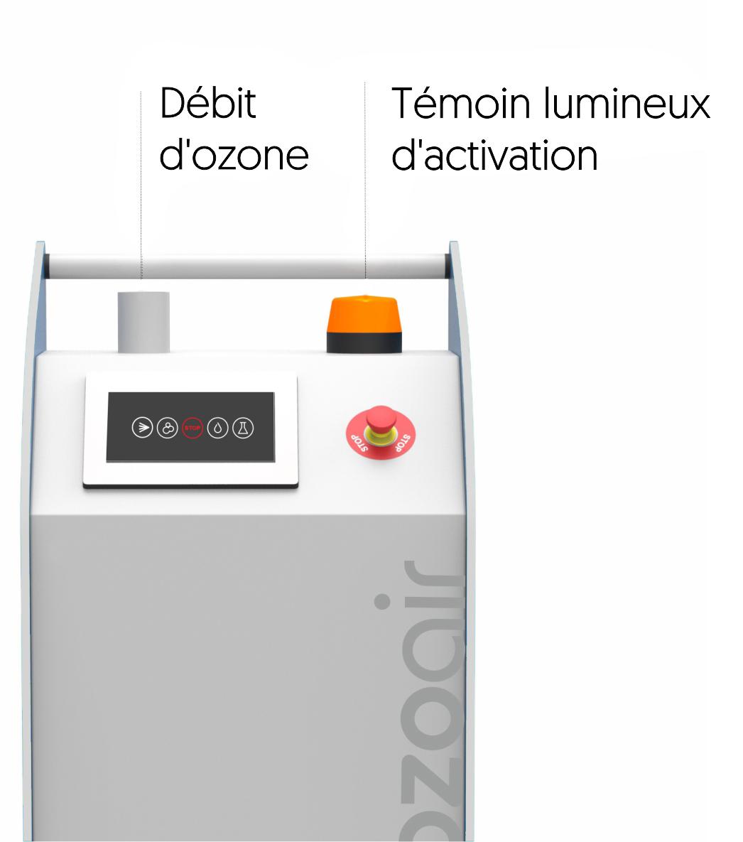 Générateur d'ozone intelligent Ozoair