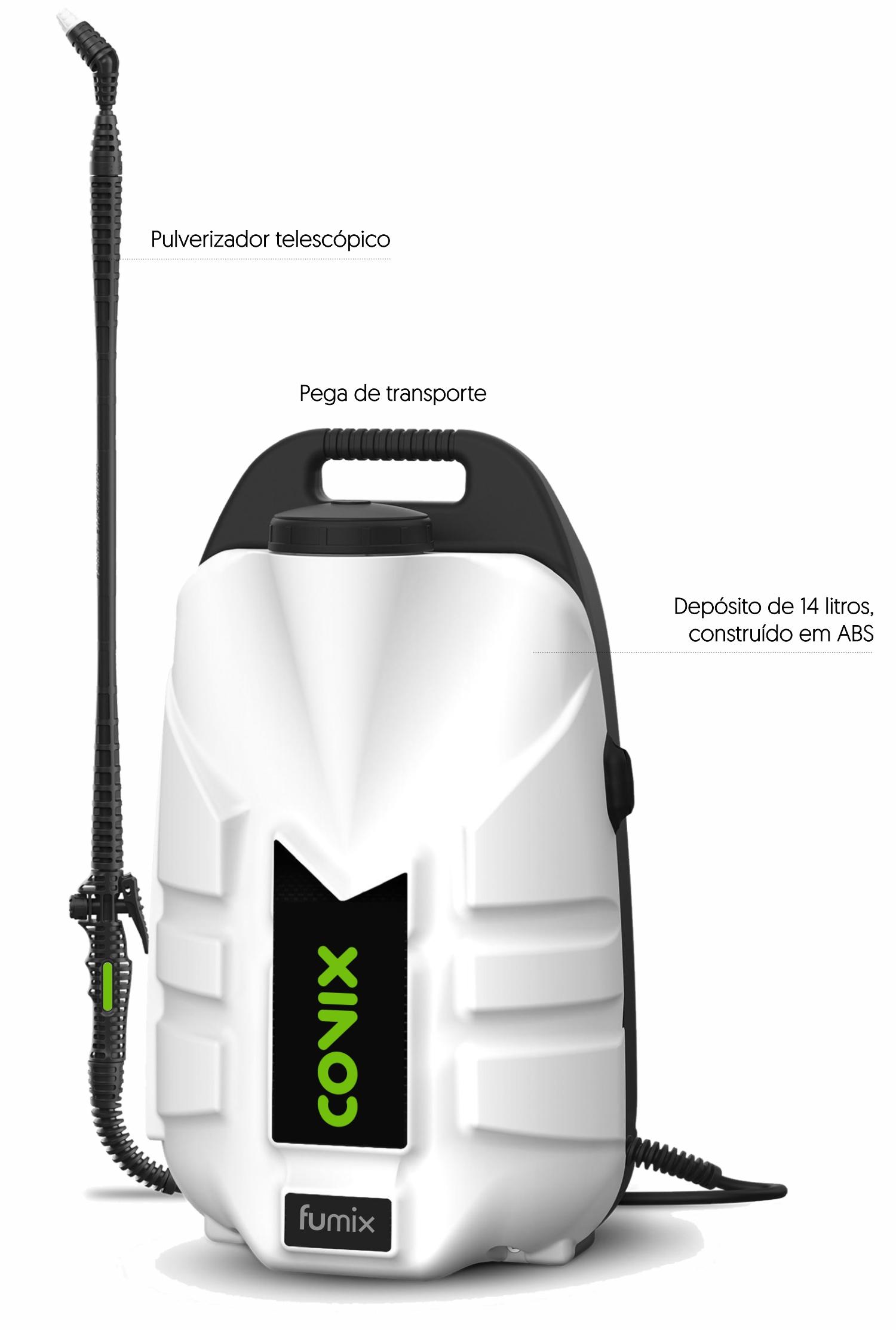 pulverizador eléctrico desinfecção