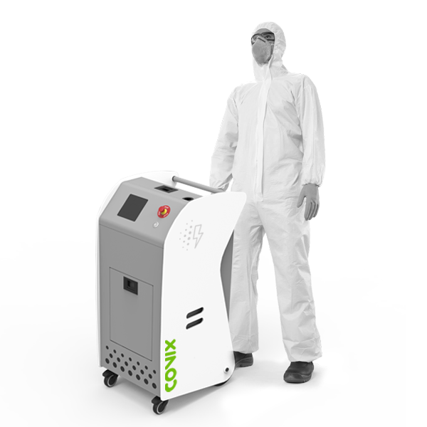 Electrostatic nebulizer with induction technology