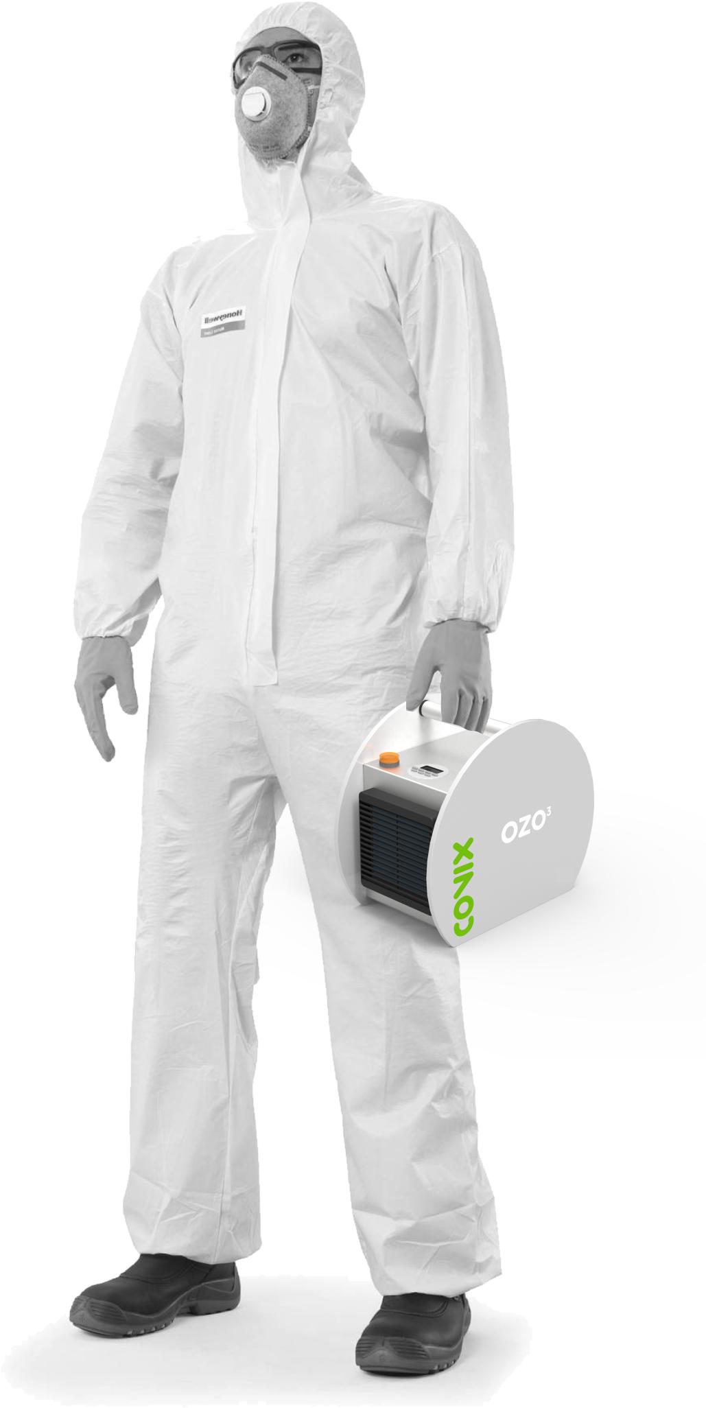 Ozoniseur portable pour la désinfection des locaux