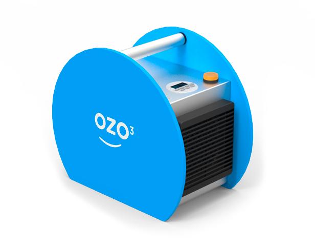 Ozonizador portátil para desinfección
